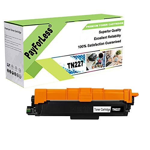 PayForLess Toner Cartridge TN227 TN-227 TN223 TN-223 Compatible for Brother HL-L3270CDW HL-L3210CW HL-L3230CDW HL-L3230CDN HL-L3290CDW MFC-L3710CW MFC-L3750CDW MFC-L3770CDW Printers -  TN227B01M