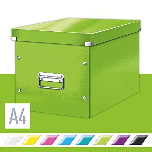 Leitz Opbergdoos Click & Store Wow Cube L, Groen