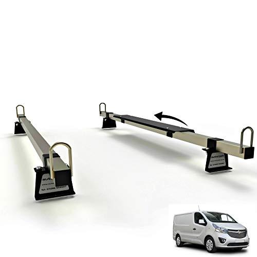 Van Dachträger 2 Stangen – für: Opel Vivaro MK2 (2014–2019) AutoRack Titan Bauqualität.