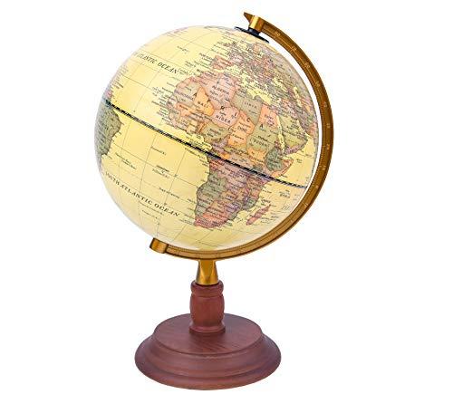 Exerz 30CM educativo MONDO GLOBO XL Girevole Globe-DIAMETRO 30cm