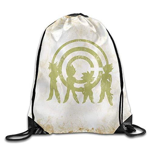CHSUNHEY DBZ Corp Training Gym Eco-Friendly Luggage Drawstring Backpack Sack Bag