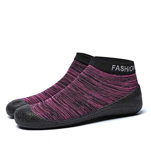 GGPUS Outdoor mannen sokken schoenen, dames upstream schoenen, indoor fitness schoenen, strand schoenen,Rood,35/36