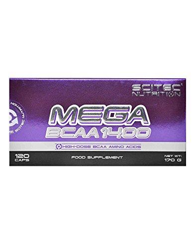 MEGA BCAA 1400 120 caps.
