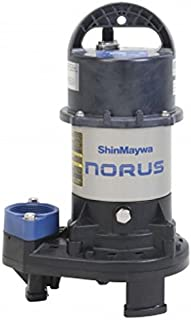 ShinMaywa 50CR2.25S Norus Stainless Steel Submersible Pump, 1/3 Horsepower