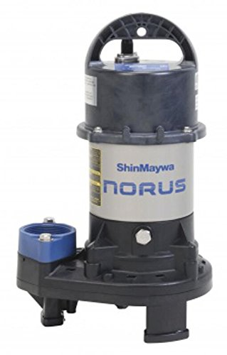 ShinMaywa 50CR2.25S Norus Stainless Steel Submersible Pump, 1/3 Horsepower