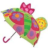 Stephen Joseph Pop Up Umbrella, Butterfly