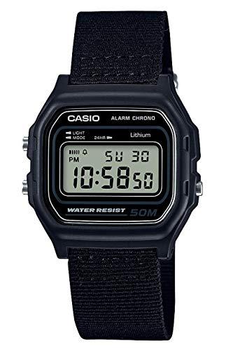 Casio Reloj Digital para Hombre de Cuarzo con Correa en PU W-59B-1AVEF