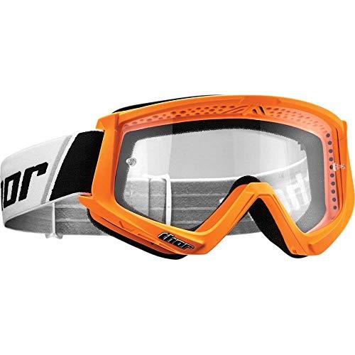 Thor Combat Motocross Kinder Brille Spring 2019 fluo orange klare Scheibe