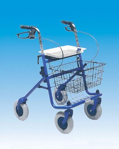 Behrend-Homecare 33041012 PU-Ersatzrad für Rollator Gehwagen