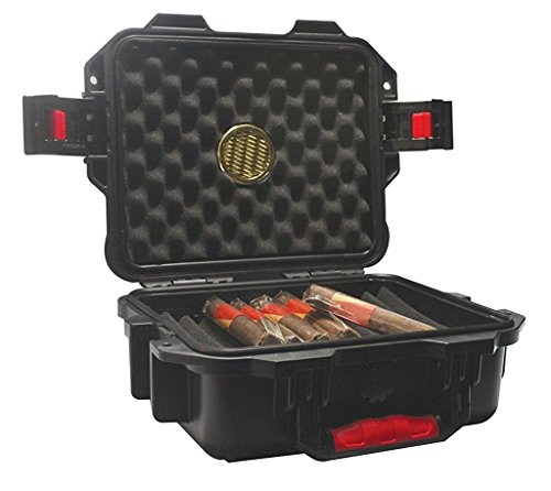 F.e.s.s. Armour S Case Extreme Rugged Air Tight Waterproof Travel 25-30 Cigars Humidor