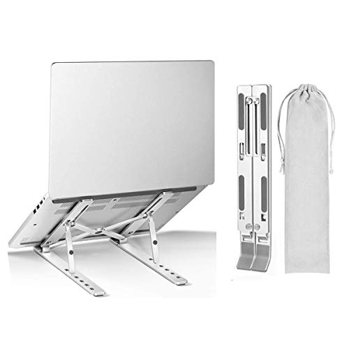 SAINUOD Laptop Stand,Portable Multi-Angle Adjustable Tablet Computer Holder for MacBook Pro/Air, More 10-15.6 Inch Notebooks