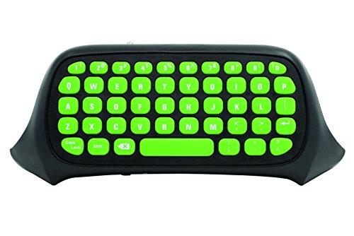 snakebyte Xbox One KEY:PAD - schwarz/grün - Keyboard / Chatpad / Tastatur für sämtliche Xbox One Controller