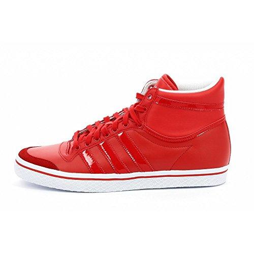 adidas Originals Top Ten Vulc, Mujer, Rojo