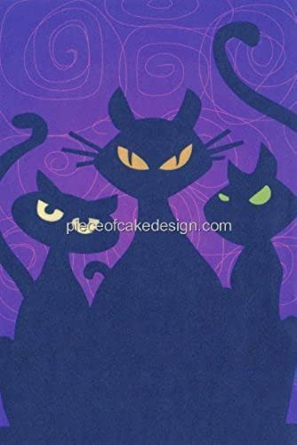 Dark Cat Eyes  Edible Image Cake Topper by A Birthday Place