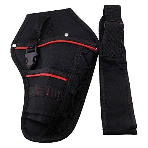 Bolsa de herramientas de almacenamiento, multifuncional, impermeable, bolsa de herramientas para la cintura para destornillador de martillo, bolsa de herramientas de cinturón eléctrico