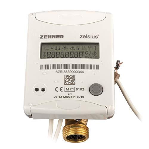 Wärmezähler Zelsius QN 1,5 ISF Ausführung 110 mm / 3/4 Zoll Anschluss Eichung 2021