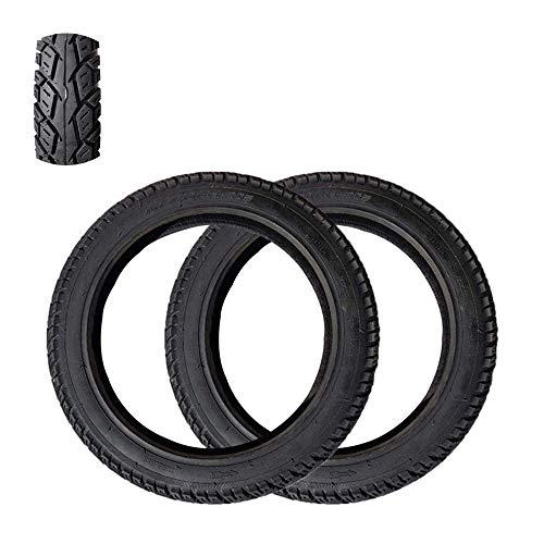 ZHANGYY Neumáticos para Scooters eléctricos, 16x2.50 Neumáticos a Prueba de explosiones al vacío, Resistentes al Desgaste y a la presión, Resistencia a Altas y Bajas temperaturas, Aptos pa