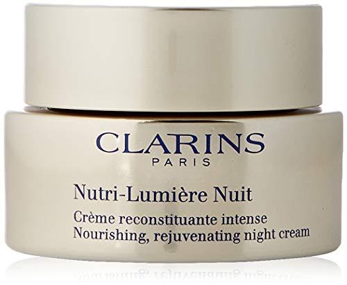 Clarins Unisex Crema DE Noche NUTRI-Lumiere NACHTCREME 50ML, Negro, Standard