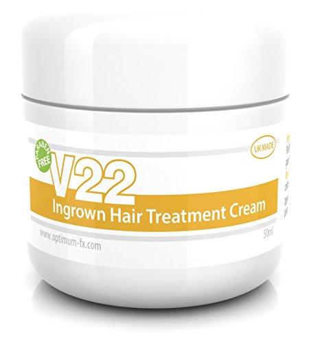 V22 Behandlungscreme Für Eingewachsene Haare ParabenFREIE - 50ml