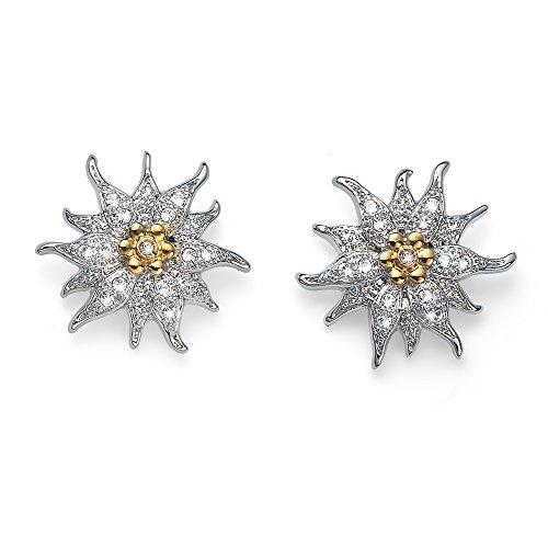 Oliver Weber Collection Edelweiss – Pendientes rodiados – Colección de joyas premium – Pendientes con cristales Swarovski – Idea de regalo para mujer