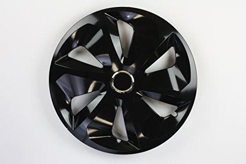 ZentimeX Z731686 Radkappen Radzierblenden universal 15 Zoll black