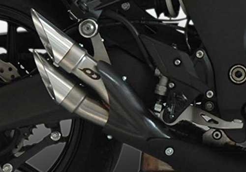 Kawasaki Z 1000ABLAUFGARNITUR Terminals QD Exhaust Serie Powergun