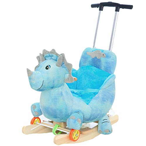 Fantastic Prices! Rocking horse ZJING Children's Early Education Music Trojan Children's Baby Rockin...
