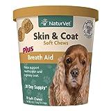 NaturVet – Skin & Coat Plus Breath Aid for...
