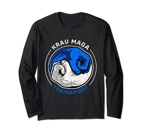 Kampfkunst Krav Maga Shirt Retro...
