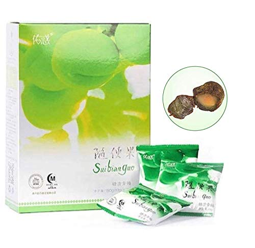 Green Diet Plum for 15~30 Days Natural Detox Fat Burn Constipation Treatment 15 Counts