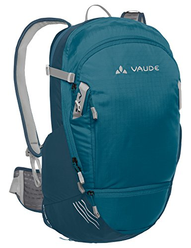 VAUDE Splash 20+5, Rucksack für Radsport, Dark Petrol/Blue Sapphire, Einheitsgröße