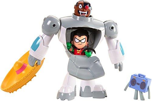JUSTICE LEAGUE- Cyborg y Robin (Mattel FFR08)