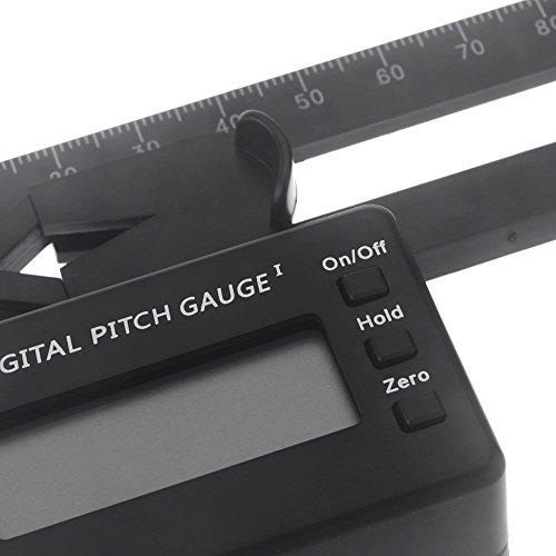 GoolRC LCD Digital Pitch Lehre für align TREX 150-700 Flybarless Hubschrauber (Digital Pitch Gauge)