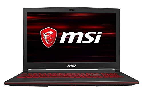 MSI Gaming GL63 9RCX-222IN Intel Core i5-9300H 9th Gen 15.6-inch Gaming Laptop (8GB/512GB NVMe SSD/Windows 10 Home/GTX 1050 Ti, 4GB Graphics/Black/2.22Kg) 9S7-16P812-222