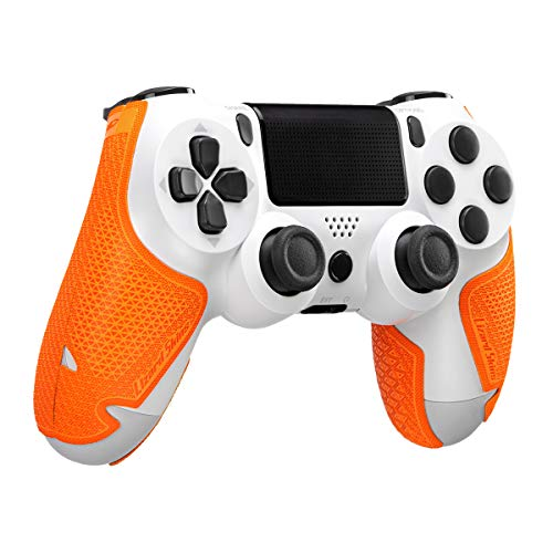 Lizard Skins DSP Controller Grip for PS4 Controllers – PS4 Gaming Grip - Playstation 4 Compatible Grip 0.5mm Thickness - PRE Cut Pieces - Easy to Install – 10 Colors (Tangerine)