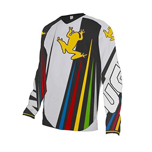 Uglyfrog Bike Wear Atmungsaktiv Trendy Herren Downhill/MTB Jersey Mountain Bike Shirt Fahrradtrikot Langarm Freeride BMX Fr¨¹Hling Top F06