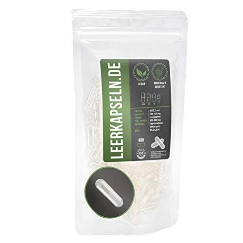 Magensap resistente | lege capsules maat 00 | maagsap resistente lege capsules | veganistisch – hoge kwaliteit | lost…