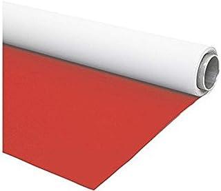 Fondart   Fotohintergrund für Fotografie und Video, professionelle Fotoleinwand beidseitig, Rot   Weiß, 220 x 305 cm