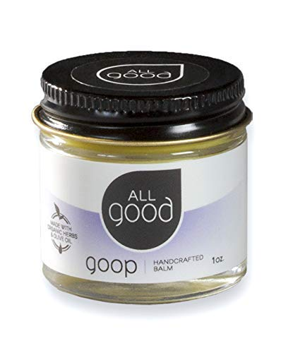 All Good Goop  Organic Skin Relief Balm amp Ointment w/Calendula for Dry Skin Scars Eczema Diaper Rash Bug Bites Burns Chapped Lips  Safe for Baby amp Sensitive Skin 1 oz