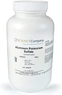 The Science Company, NC-8068, Aluminum Potassium Sulfate, 500g