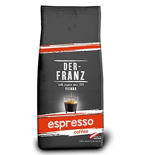 Der-Franz Espresso-Kaffee UTZ, ganze Bohne, 1000g
