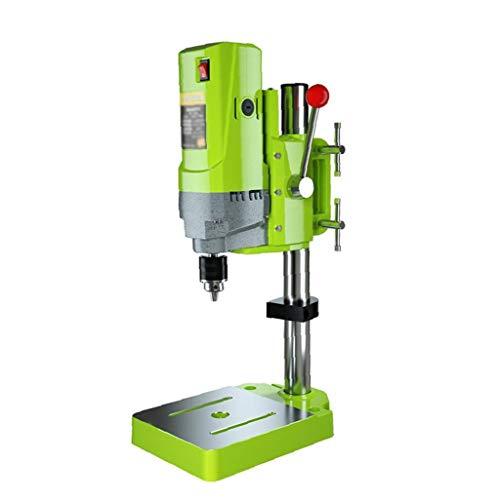 Taladro de soporte multifunción de sobremesa prensa de taladro 220V piso de perforación soporte de mesa de precisión de alta velocidad para herramientas eléctricas Práctica de perforación Collet