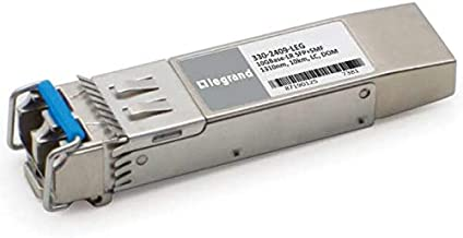 $361 » C2G Dell 330-2409 Compatible 10GBase-LR SFP+ Transceiver (SMF, 1310nm, 10KM, LC, DOM) TAA Compliant (330-2409-LEG)