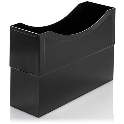 Classei Kunststoff Box, Farbe: schwarz, auch als Ablagebox verwendbar