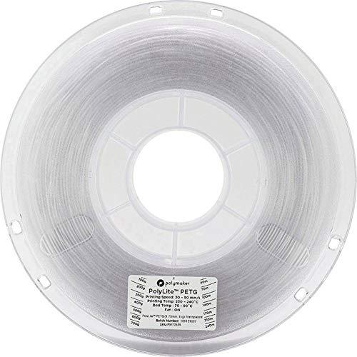 750 g Polymaker 2.85 mm Diameter White RM-PV0008 LulzBot Polydissolve S1