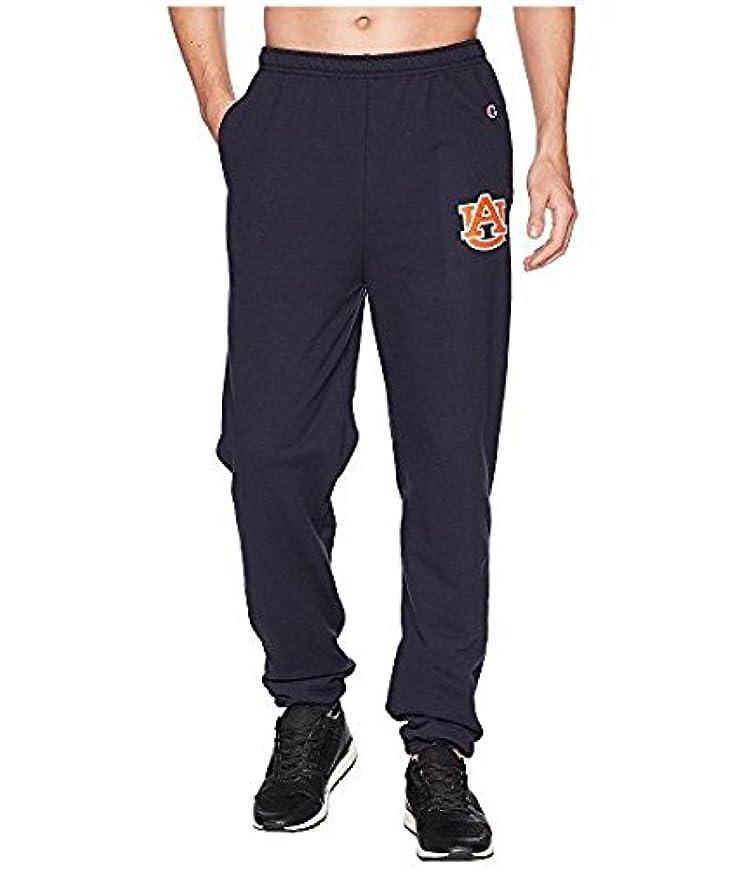 地元半球キーチャンピオンカレッジ Champion College メンズ パンツ Navy Auburn Tigers Eco Powerblend Banded Pants [並行輸入品]