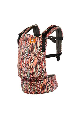 Baby Tula Multi-Position, Ergonomic Baby Carrier, Front and Back Carry for 15 – 45 pounds – Storytail (Multi-Colored Animal Print)