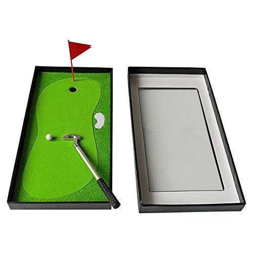 YEZIN Cosas de Golf- Set de Regalo Multifunción Decoraciones de Golf Pluma Resistente al Desgaste Juego de Souvenirs Creative Mini Golf Club Metal Pen Desktop Golf (Color : C1, Size : Free)