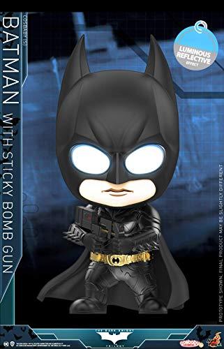 Hot Toys Batman: Dark Knight Trilogy Cosbaby Mini Figure Batman with Sticky Bomb Gun 12 c