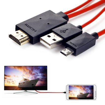 Micro USB a HDMI MHL CABLE de salida de AV adaptador para Samsung Galaxy S3 i9300, S4 i9500, i9505, Note N7100, Note 2, N7105, N5100, N5110